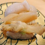 ことぶき寿司 - 貝三昧...バイ貝、ミル貝、ほたて