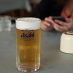 レストラン アカショウビン - 生ビール 550円