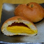 Pan Peace - パンプキンクリームパン