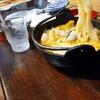 小作 - 料理写真:あっ 写真忘れた   麺リフト(娘) とにかく太く たべるうどんです