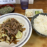 喜龍 - 料理写真:焼肉定食