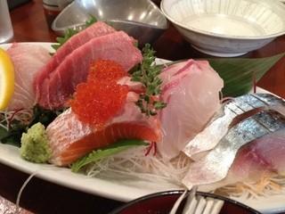 和洋cuisine BAR 一と九 - 5点盛りランチ 1800