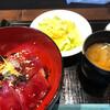 北地蔵 - 料理写真:生本鮪の漬丼!1000円税込