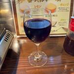 敷島 - 赤ワイングラス