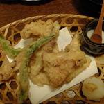 うしのほね - 松茸の天ぷら(≧ω≦*)♪
