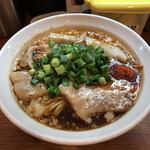 155920792 - 辛口 炙り肉ソバ(醤油) 780円