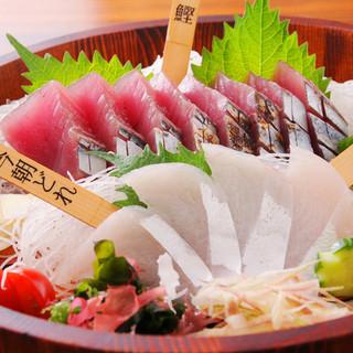 新鮮なこだわり鮮魚を召し上がれ!