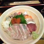 大衆酒場 ゑびす - ゑびす海鮮丼アップ(表)
