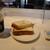丸山珈琲 - 料理写真:トーストwithジャム&バターのドリンクセット