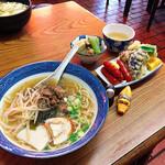 笹屋食堂 - 料理写真:ちなみに朝ごはんである