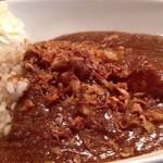 スパイシーカリー クラッチ - チキンカレー、玄米、ご飯少な目