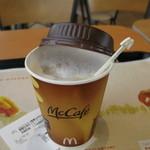 マクドナルド - ドリンク写真:カフェオレ(S)190円