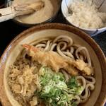 釜銀 - 料理写真:麦とろセット ¥850(税込)