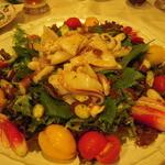 北白川中国料理 叡 - イカのサラダ