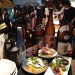 大阪産(もん)料理 空 - 人気のカウンター席です。ご予約時にカウンター席と一言お願いします。