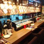 昭和大衆酒場 てくてく屋 - カウンターで過ごすもよし。