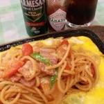 岡崎高原カントリークラブ レストラン - 料理写真:これが一番、ナポリタン♪
