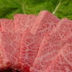 韓国さくら亭 - 料理写真:。旨みたっぷりの刺しがやわらかい赤身にきめ細かく入った最上級のカルビ