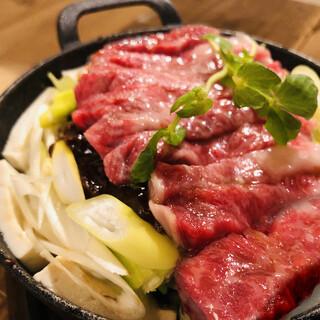 「牛なべ」は和牛ステーキを美味しく食べるもう一つの方法。