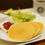 新橋珈琲店 - Morning set C set (¥500)