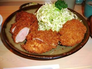 丸一 - 大ヒレかつ定食 2,000円