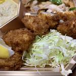 大形屋 - 海老、白身魚のフライ