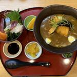 156012919 - セット海鮮丼とカレーうどんセット(1,680円)