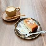 Nouminkafe - ランチセットのデザートとアフタードリンク