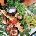 エンボカ - 本日の窯焼き野菜の盛り合わせ