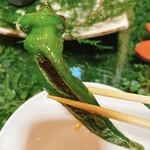エンボカ - 窯焼き野菜の万願寺唐辛子