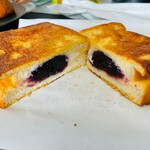 ハレビノ - ブルーベリーとマスカルポーネのフレンチトース