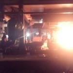 15606427 - 店内の鰹のあぶり焼き パフォーマンス劇