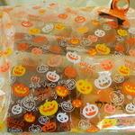 パティスリー カンジュ - ハロウィンラッピングの焼菓子