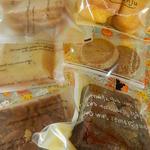 パティスリー カンジュ - ハロウィンラッピングの中に入っていた焼菓子