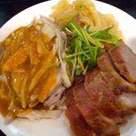15607993 - 前菜盛り合わせ(棒々鶏、くらげ、焼豚)