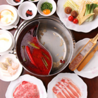 一度は味わって頂きたい花椒庭名物「四季火鍋」