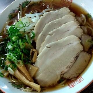比婆観光センター - 料理写真:チャーシュー麺