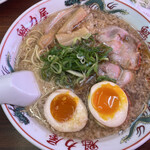 Ramenkairikiya - しょうゆ味玉ラーメン