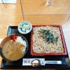やぶ善 - 料理写真:ざるそばとミニカレーライスのセット、950円。