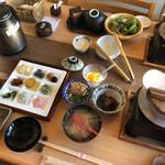 魚彩和みの宿三水 - 料理写真:朝ごはーん^ ^