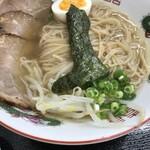 南製麺所 - 塩ラーメン550円+チャーシュー220円