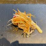 イル・クアドリフォーリオ - 前菜 ハモのカルパッチョ