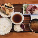 156097231 - 天ぷら定食