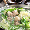 Motsuhiko - 料理写真:博多水炊き風もつ鍋は、1人前220kcalでヘルシーです