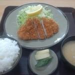 とんかつ 吾妻 - トンカツ定食@¥830