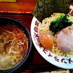 濃豚骨醤油ラーメン 馬力屋 - 馬力つけ麺:880円