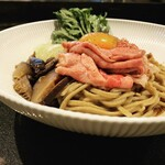 Japanese Soba Noodles 蔦 - SUKIYAKI 和牛和え麺