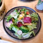 あえん - 前菜のサラダ