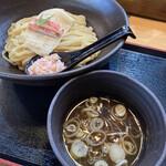 天下ご麺 - 料理写真:蟹の冷しつけ麺