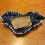 寿司 あさ海 - 鰆の燻製